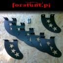 Shark fin stars