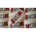 4stunt.pl stickers white-red