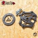 3 Radial big rotor kit for 03-09 Yamaha R6