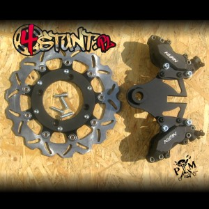 2xNissin Honda F4i big rotor kit