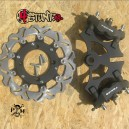 2 radial caliper HB big rotor kit