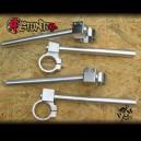 Aluminium clip-on handlebar