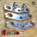 03-04 636 aluminium flat top triple