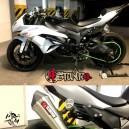 2009-2012 Kawasaki ZX6R subcage alu-steel