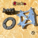 3 monoblock calipers HB bracket for K6 K7 GSX-R