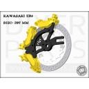 Kawasaki ER6 handbrake bracket