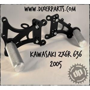 05-08 Kawasaki ZX6R adjustable rearsets