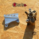 Adapter for CNC HB bracket for ZX6R 05-12