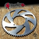 65T 525 CNC aluminium rear sprocket for Suzuki