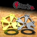3xRadial 03-04 Kawasaki 636 HB big rotor kit