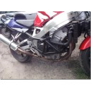 CBR 900RR crash cage with amortization