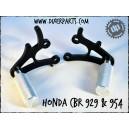 Honda 929 954 steel rearsets