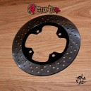 255mm rear brake disc for Honda and Triumph