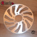 Alu 65T, 520 rear sprocket for Kawasaki 636