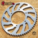Aluminium 65T 525 rear sprocket for F4i
