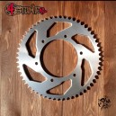 57T 520 alu rear sprocket for Honda F4i