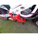Honda F4i crash cage 4 crash pads