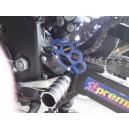 K4 steel rearsets + pegs