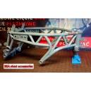 Full steel stunt frame Kawasaki ZX6R 2009-2012