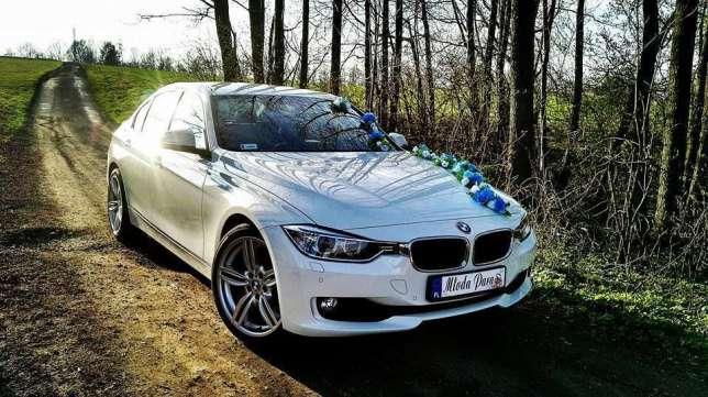Białe BMW do ślubu!